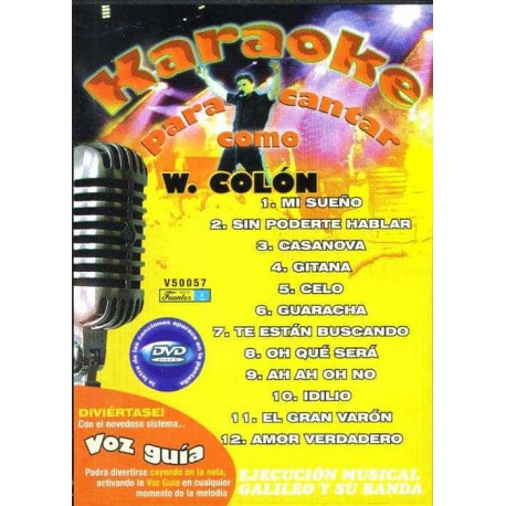 WILLIE COLON DVD Karaoke