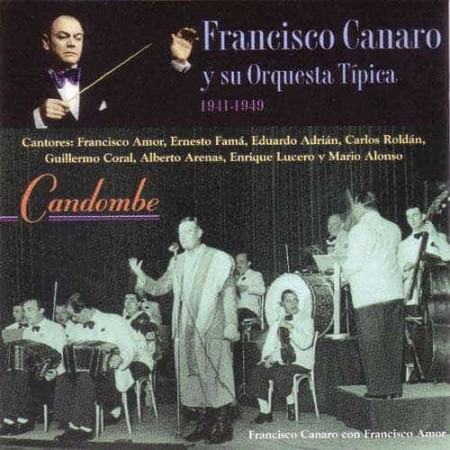 FRANCISCO CANARO CD El Bandoneon - Candombe