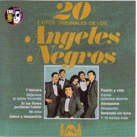 LOS ANGELES NEGROS CD 20 Exitos Originales