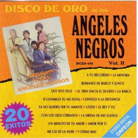 LOS ANGELES NEGROS CD Disco De Oro Vol 2