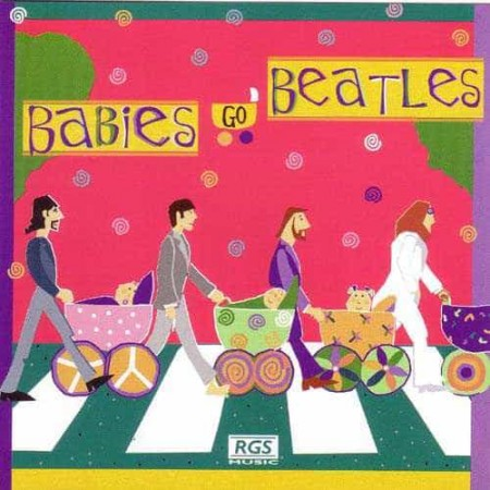 JULIO KLADNIEW CD Babies Go Beatles