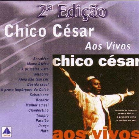 CHICO CESAR CD Aos Vivos