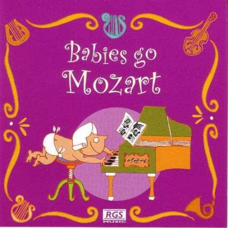 JULIO KLADNIEW CD Babies Go Mozart