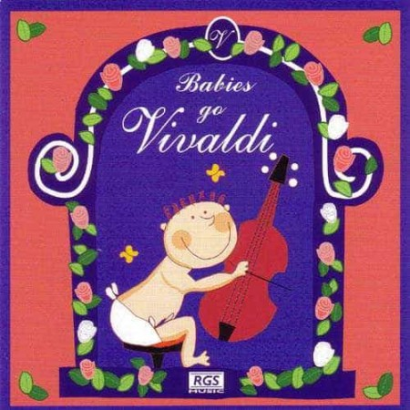 JULIO KLADNIEW CD Babies Go Vivaldi