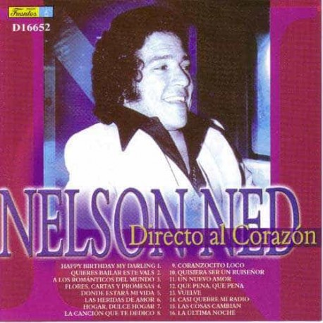 NELSON NED CD Directo Al Corazon