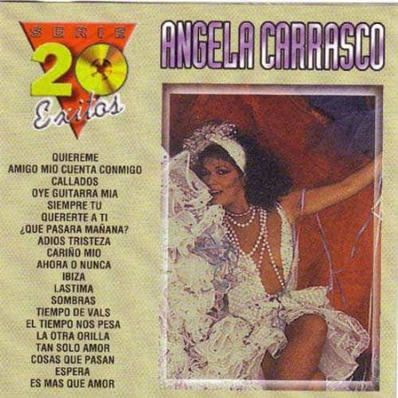 ANGELA CARRASCO CD Serie 20 Exitos