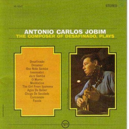 ANTONIO CARLOS JOBIM CD The Composer Of Desafinado Plays