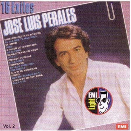 JOSE LUIS PERALES CD 16 Exitos Vol 2