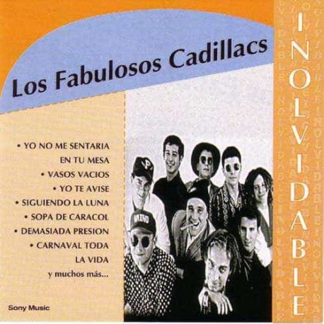 los fabulosos cadillac - inolvidable, rock, online-shop für lateiname