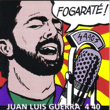 JUAN LUIS GUERRA 4 40 CD Fogarate