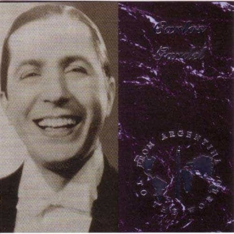 CARLOS GARDEL CD From Argentina To The World
