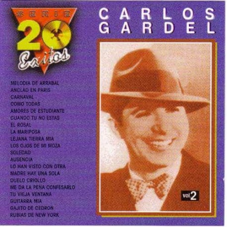 CARLOS GARDEL CD Serie 20 Exitos Vol 2