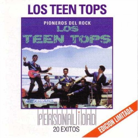 LOS TEEN TOPS CD Personalidad 20 Exitos