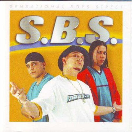 SBS SENSATIONAL BOYS STREET CD Sigue Al Lider