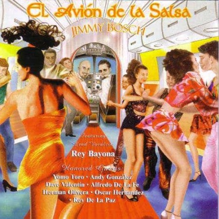 JIMMY BOSCH CD El Avion De La Salsa