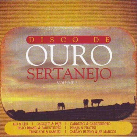 SERTANEJO CD Disco De Ouro Volume 2