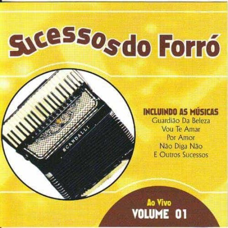 SUCESSOS DO FORRO CD Ao Vivo Volume 01