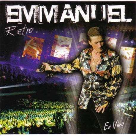 EMMANUEL DVD+CD Retro En Vivo In Concert