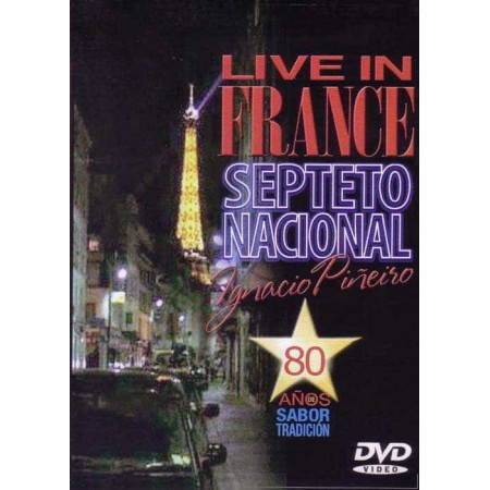 SEPTETO NACIONAL IGNACIO PINEIRO DVD Live In France