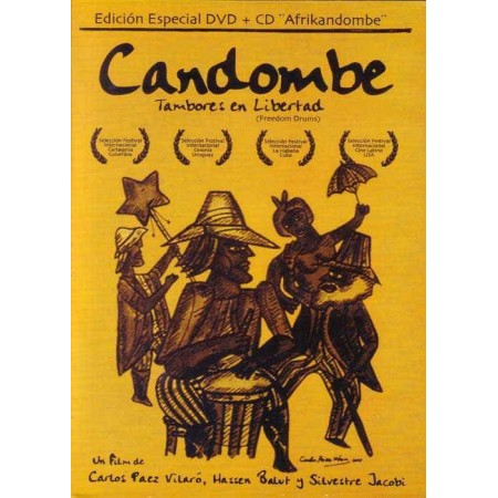 CANDOMBE DVD+CD Documental Tambores En Libertad