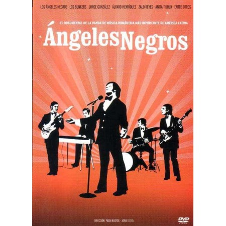 ANGELES NEGROS DVD Documental De La Banda Romantica De America