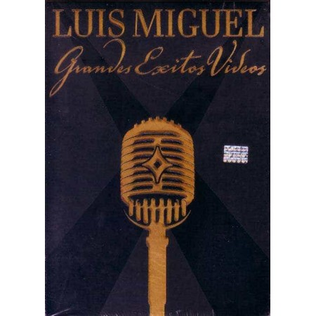LUIS MIGUEL DVD Grandes Exitos Videos