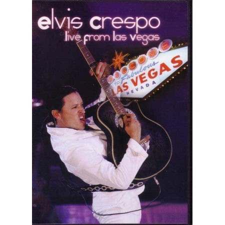 ELVIS CRESPO DVD Live From Las Vegas