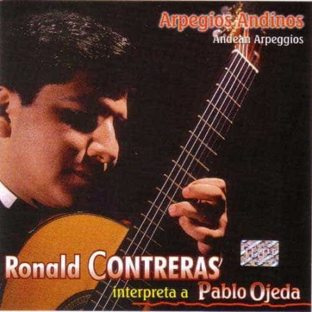 RONALD CONTRERAS CD Interpreta A Pablo Ojeda