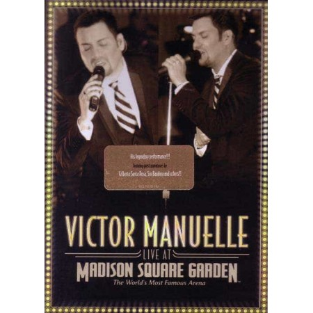 VICTOR MANUELLE DVD Live At Madison Aquare Garden