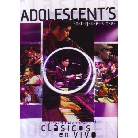 ADOLESCENT'S ORQUESTA DVD + CD Clasicos En Vivo