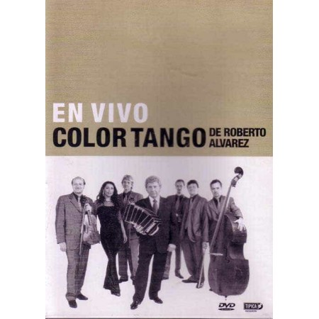 ORQUESTA COLOR TANGO DVD En Vivo In Concert