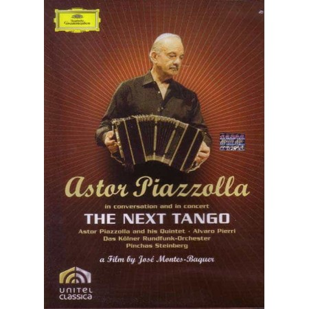 ASTOR PIAZZOLLA DVD In Conversation And In Concert