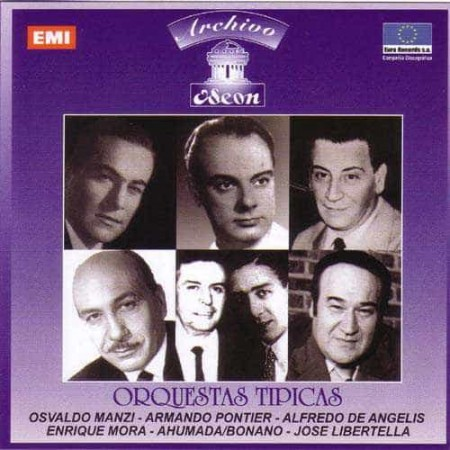 ORQUESTAS TIPICAS CD Archivo Odeon 1958 - 1968