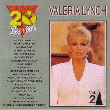 VALERIA LYNCH CD Serie 20 Exitos Vol 2