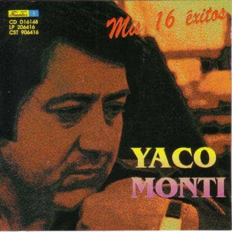 YACO MONTI CD Mis 16 Exitos