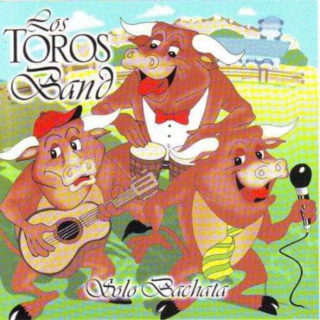 LOS TOROS BAND CD Solo Bachata