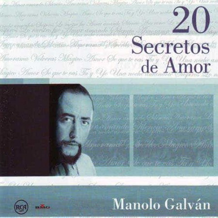 MANOLO GALVAN CD 20 Secretos De Amor Best Of