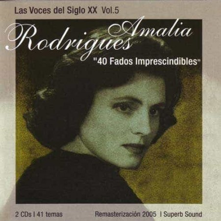 AMALIA RODRIGUES CD 40 Fados Imprescindibles