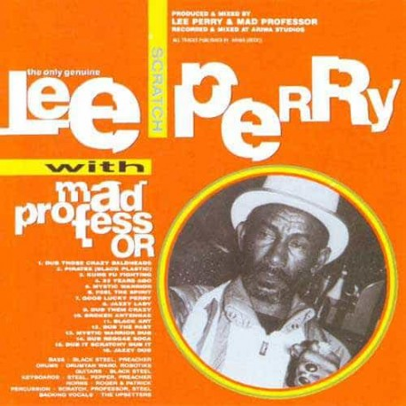 LEE PERRY & MAD PROFESSOR CD Mystic Warrior - Dub