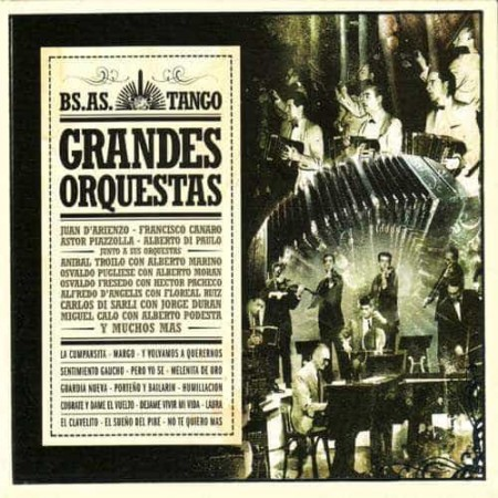 GRANDES ORQUESTAS CD Bs As Tango