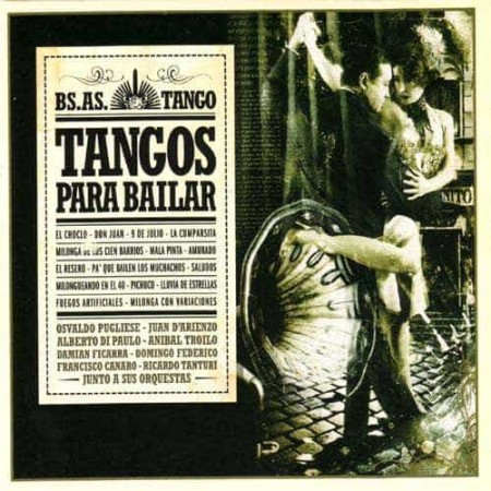 TANGOS PARA BAILAR CD Bs As Tango