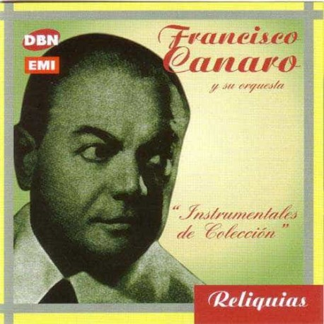 FRANCISCO CANARO CD Instrumentales De Coleccion
