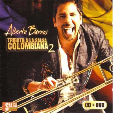 ALBERTO BARROS CD+DVD Vol 2 Tributo A La Salsa Colombiana