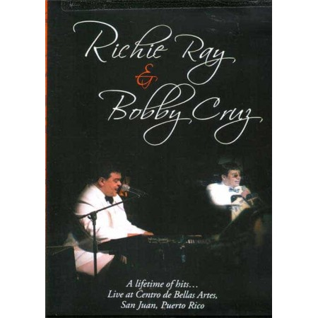RICHIE RAY & BOBBY CRUZ DVD Live At Centro De Bellas Artes