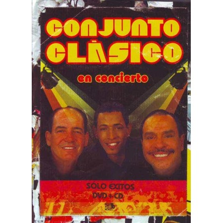 CONJUNTO CLASICO DVD + CD En Concierto Best Of