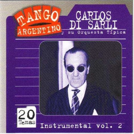 CARLOS DI SARLI CD Instrumental Vol 2 20 Temas