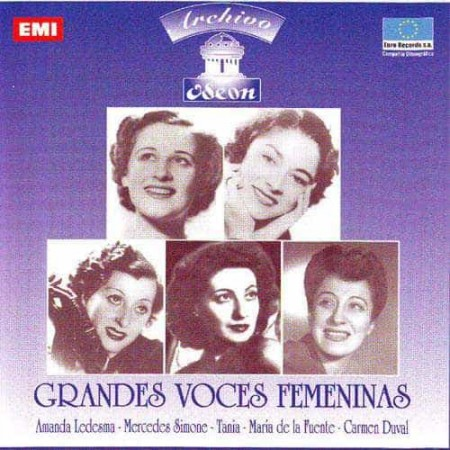 GRANDES VOCES FEMENINAS TANGUERAS CD Archivo Odeon 1936 - 1947
