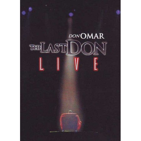 DON OMAR 2CD+2DVD The Last Don Live