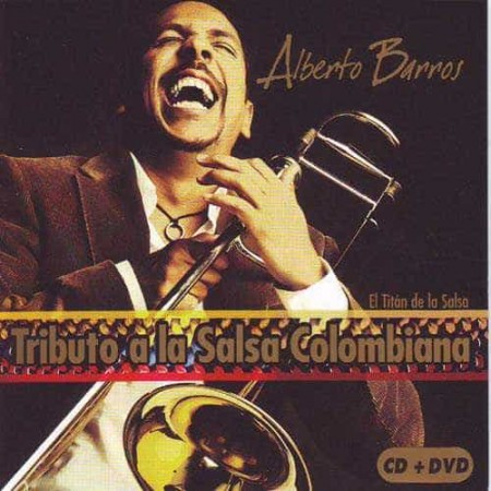 ALBERTO BARROS CD+DVD Vol 1 Tributo A La Salsa Colombiana