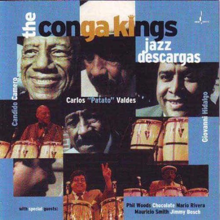 THE CONGA KINGS PATATO & CANDIDO & GIOVANNI CD Jazz Descargas